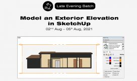 August Sketchup Exterior